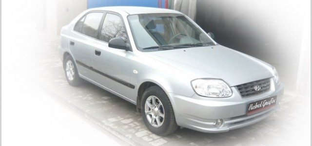 90 - Hyundai Accent - Service reparatii mecanice, tinichigerie si vopsitorie